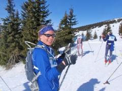 Klárce se podařilo kopec k Nové Klínovce vybruslit